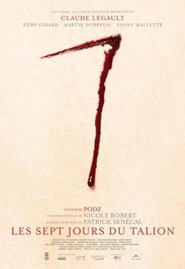 Seven Days (Les 7 jours du talion) Poster #1