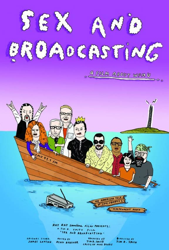 Sex and Broadcasting Poster #1