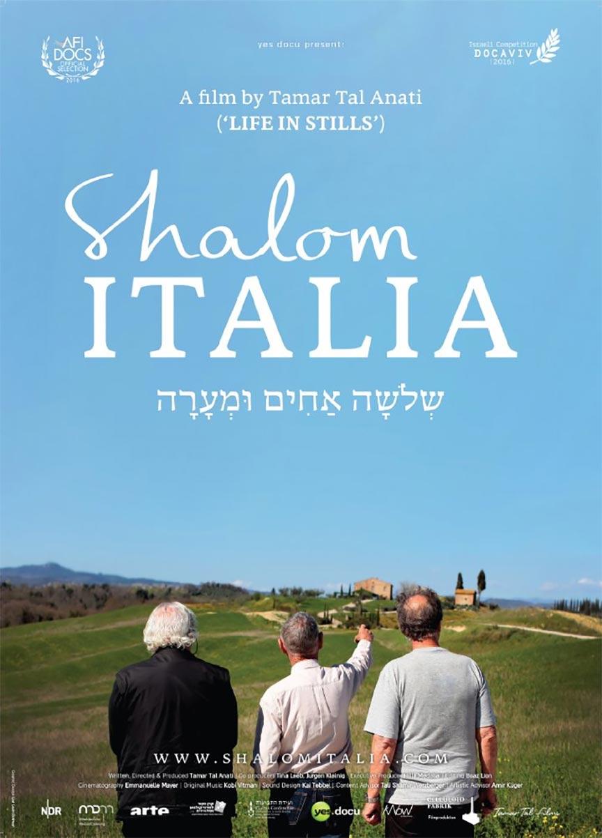 Shalom Italia Poster #1