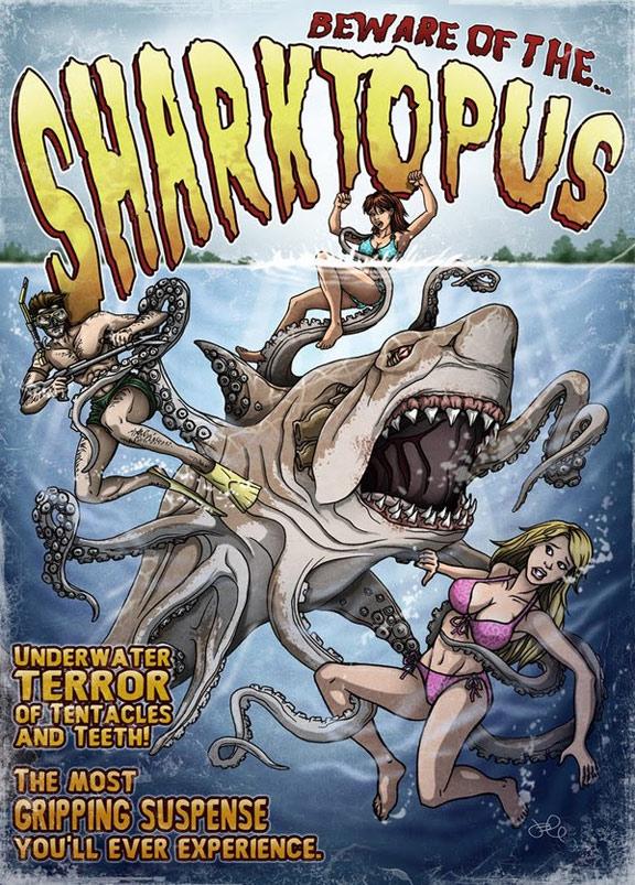 Sharktopus Poster #1