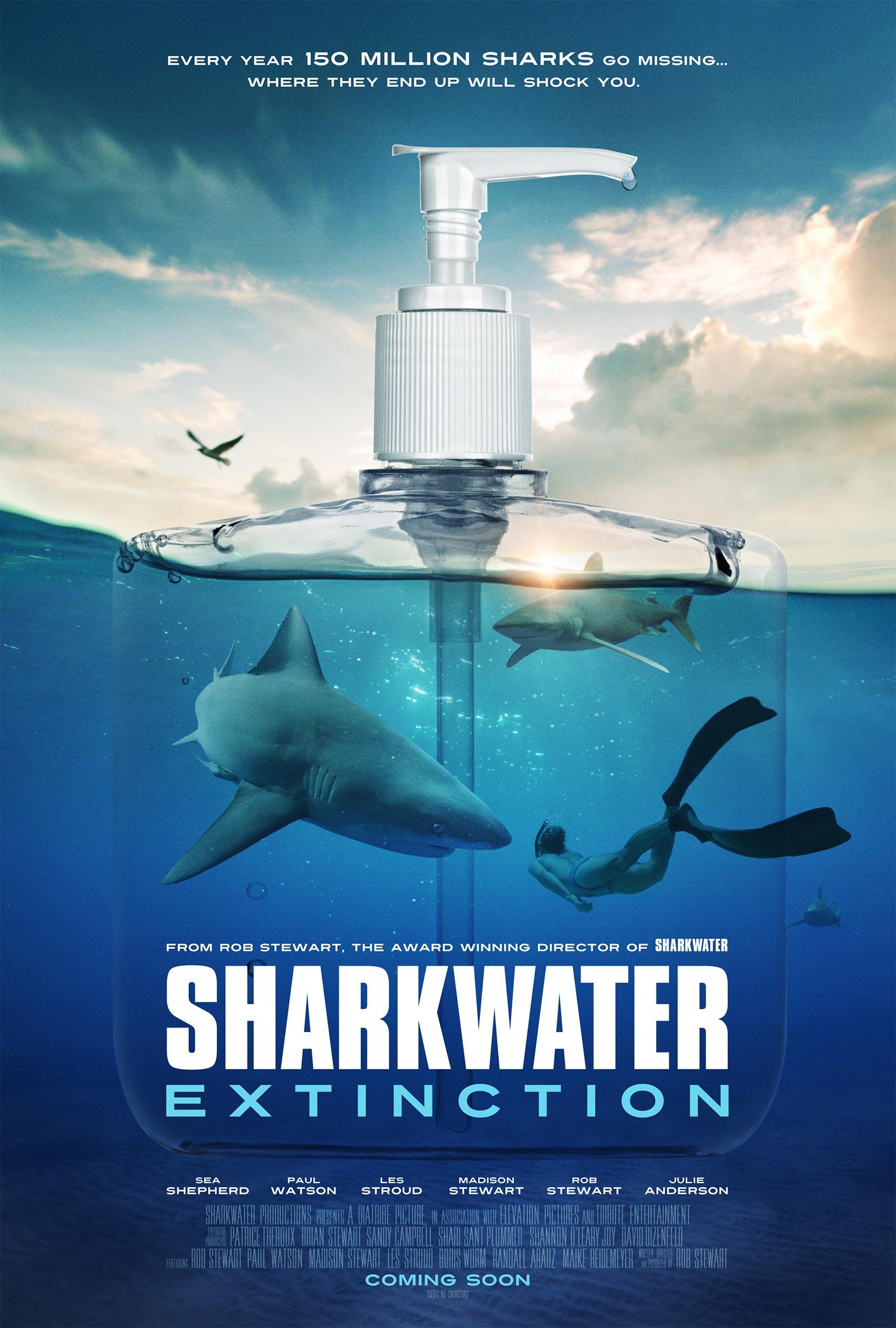 Sharkwater Extinction Poster #1