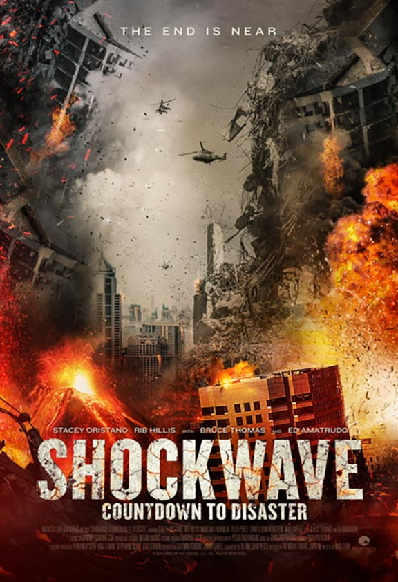 Shockwave: Countdown to Disaster Poster #1
