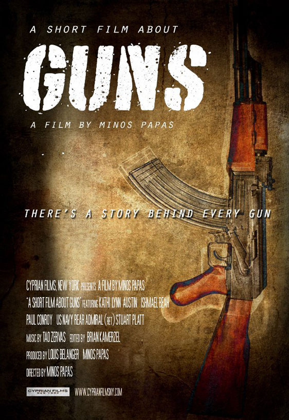 A Short Film About Guns Poster #1