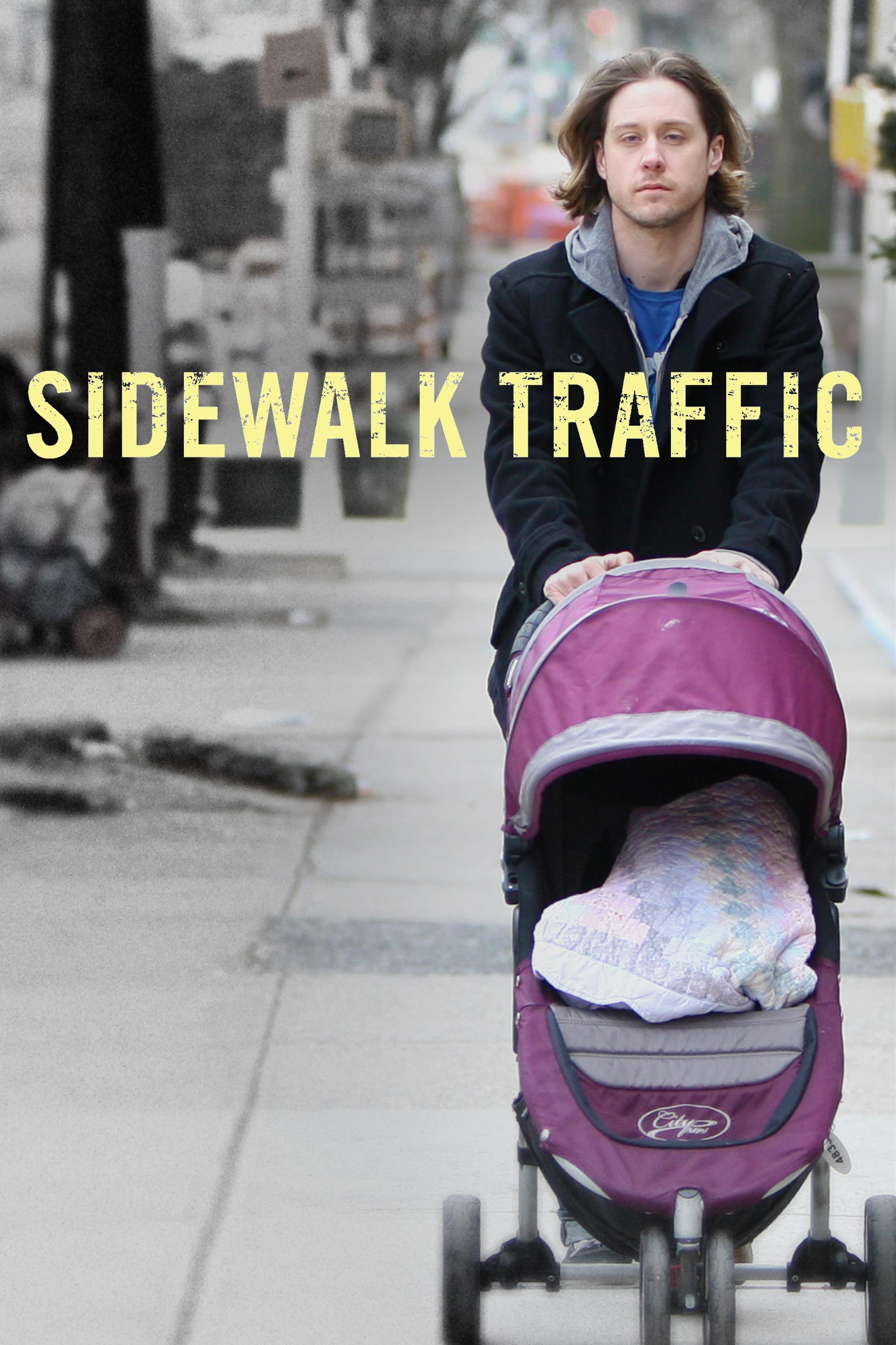 Sidewalk Traffic Poster #1