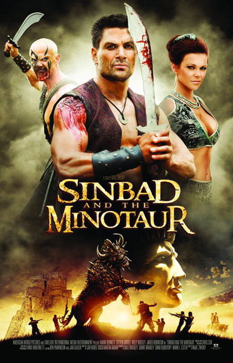 Sinbad and the Minotaur Poster #1