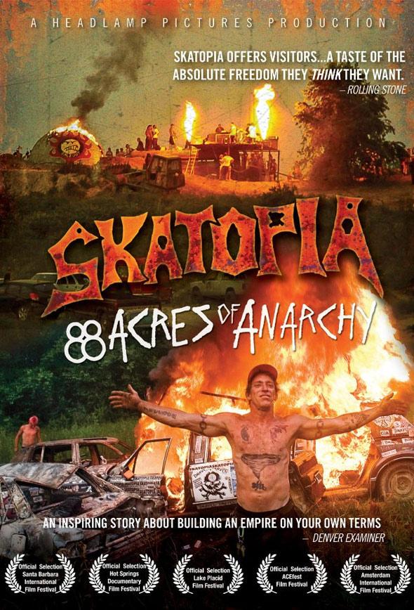 Skatopia: 88 Acres of Anarchy Poster #1
