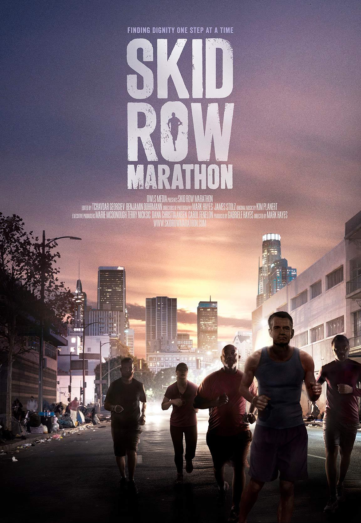 Skid Row Marathon Poster #1