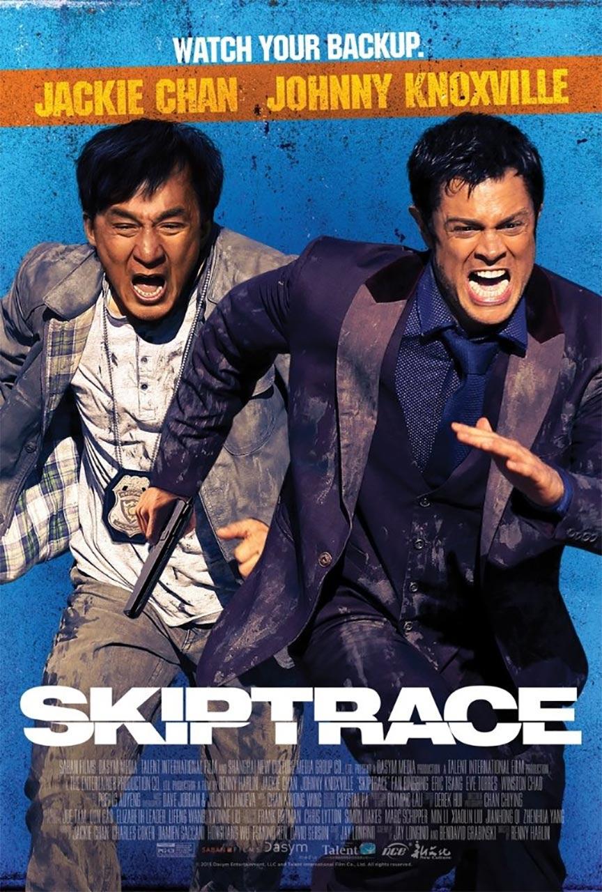 Skiptrace Poster #1