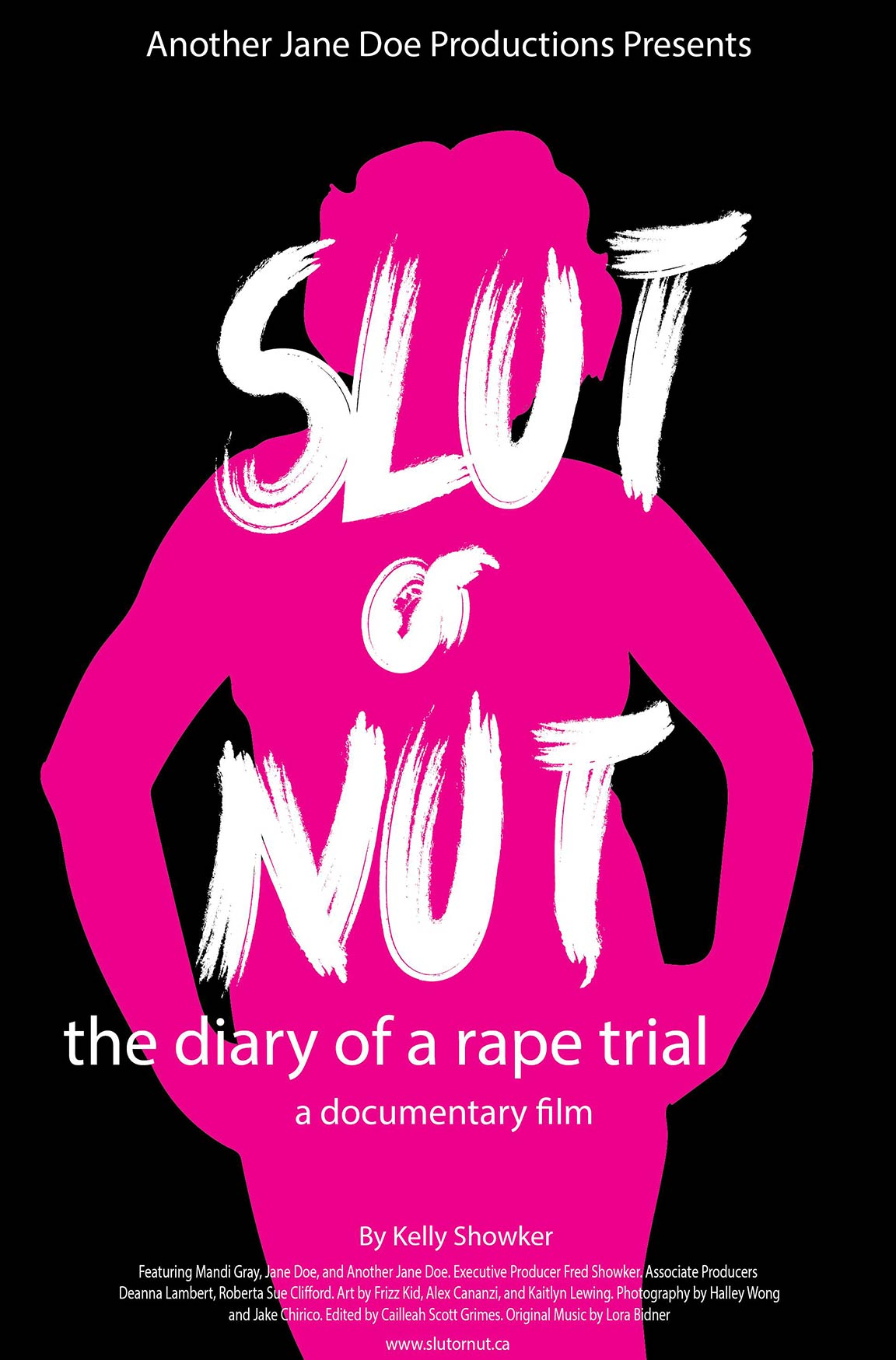 Slut or Nut: The Diary of a Rape Trial Poster #1
