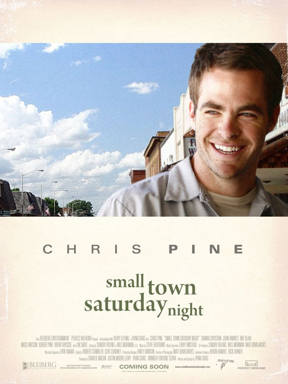 Small Town Saturday Night Poster #1