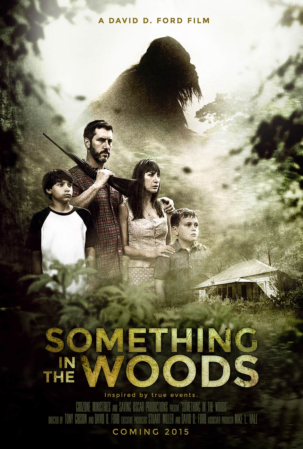 Something in the Woods Poster #1