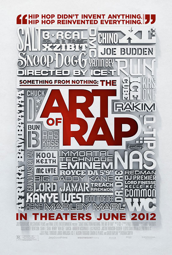 Something from Nothing: The Art of Rap Poster #1