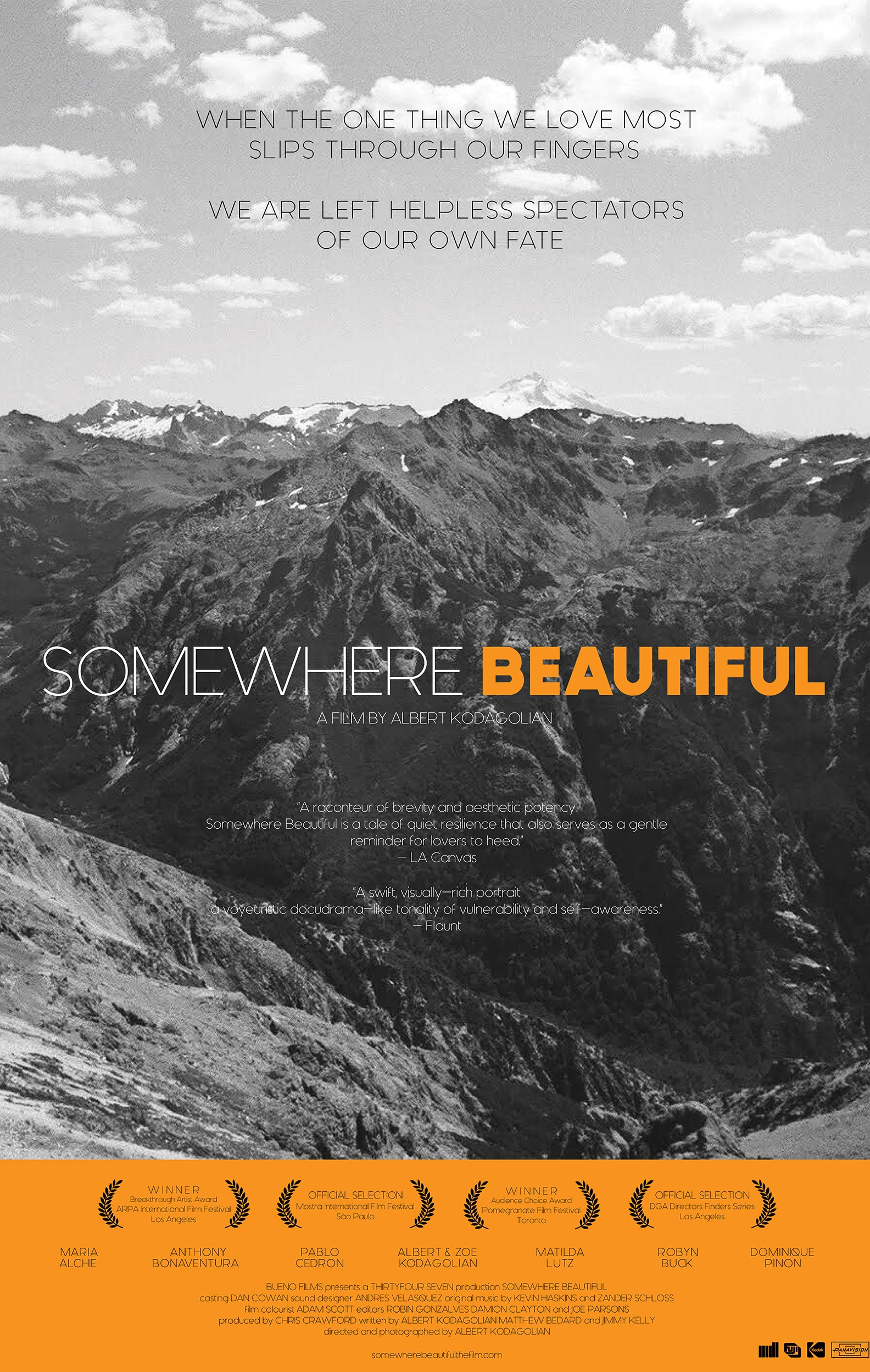 Somewhere Beautiful Poster #1