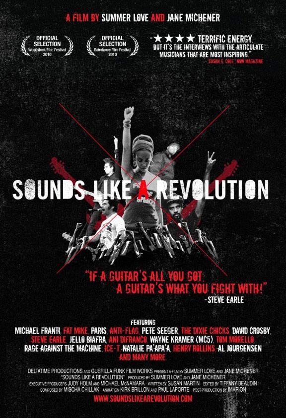 Sounds Like a Revolution Poster #1