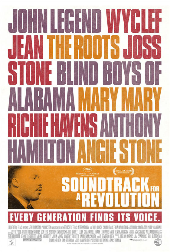 Soundtrack for a Revolution Poster #2