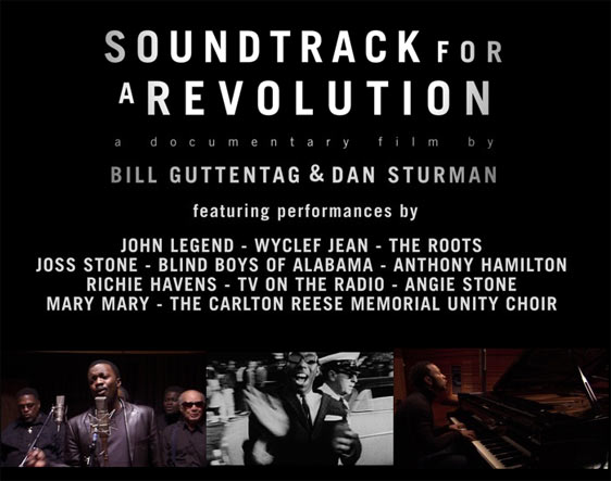 Soundtrack for a Revolution Poster #1
