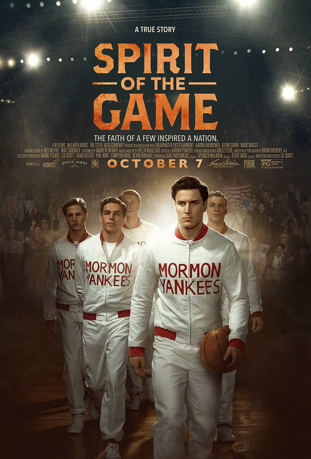 Spirit of the Game Poster #1