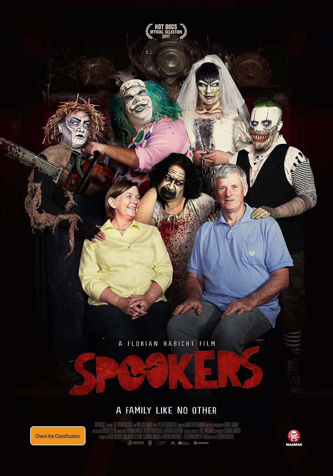 Spookers Poster #1