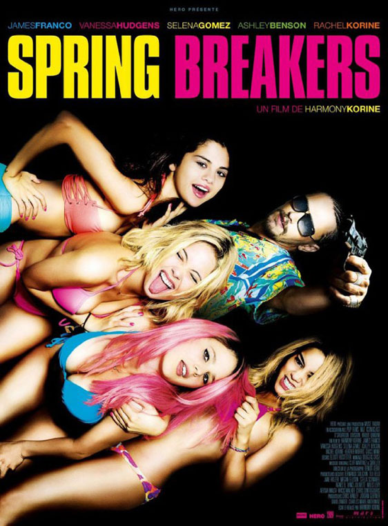 Spring Breakers Poster #1