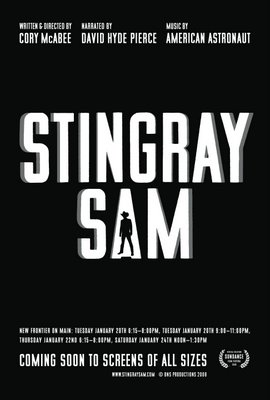 Stingray Sam Poster #1