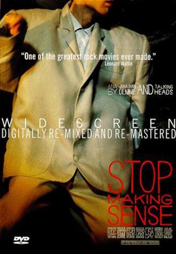 Stop Making Sense Poster #1