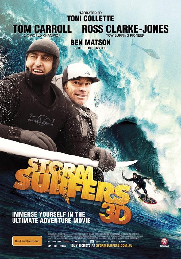 Storm Surfers 3D Poster #1