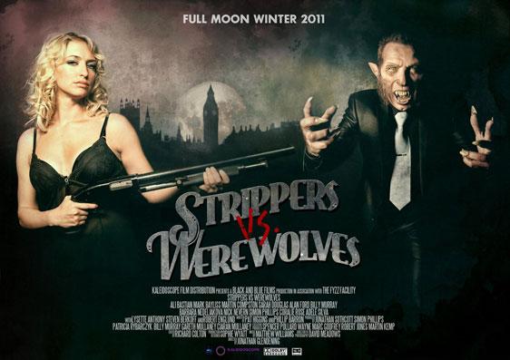 Strippers vs Werewolves Poster #2