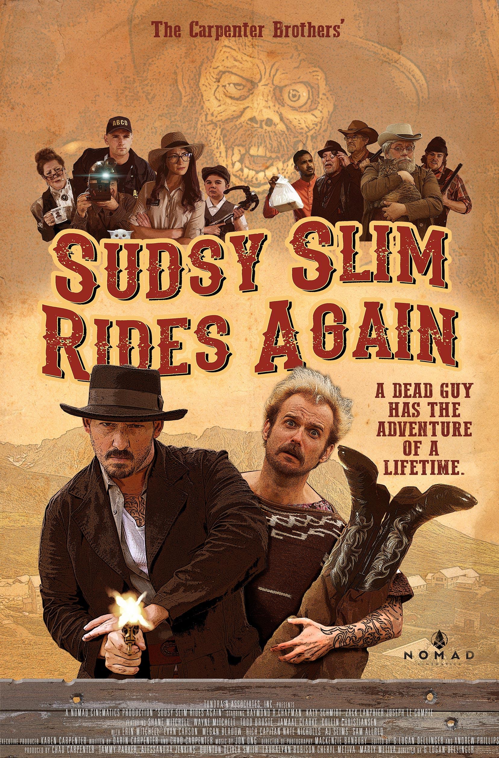 Sudsy Slim Rides Again Poster #1