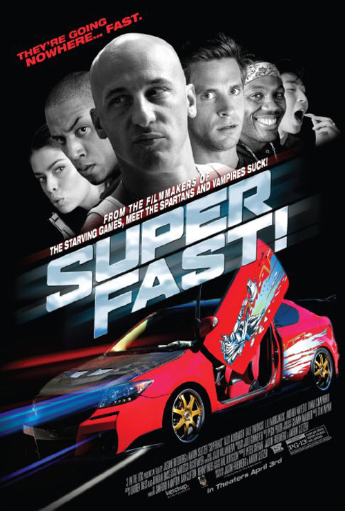 Superfast! Poster #1