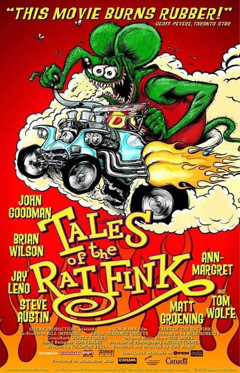 Tales of the Rat Fink Poster #1