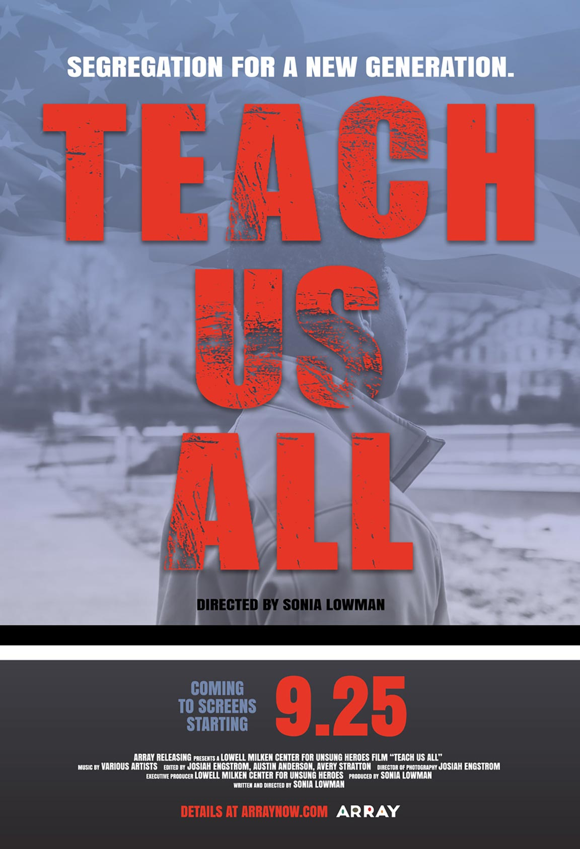 Teach Us All Poster #1