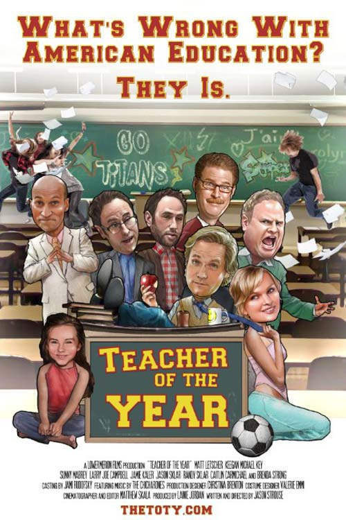 Teacher of the Year Poster #1