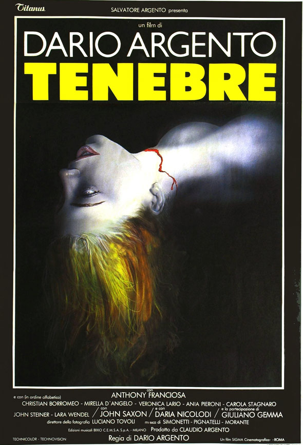 Tenebre Poster #1