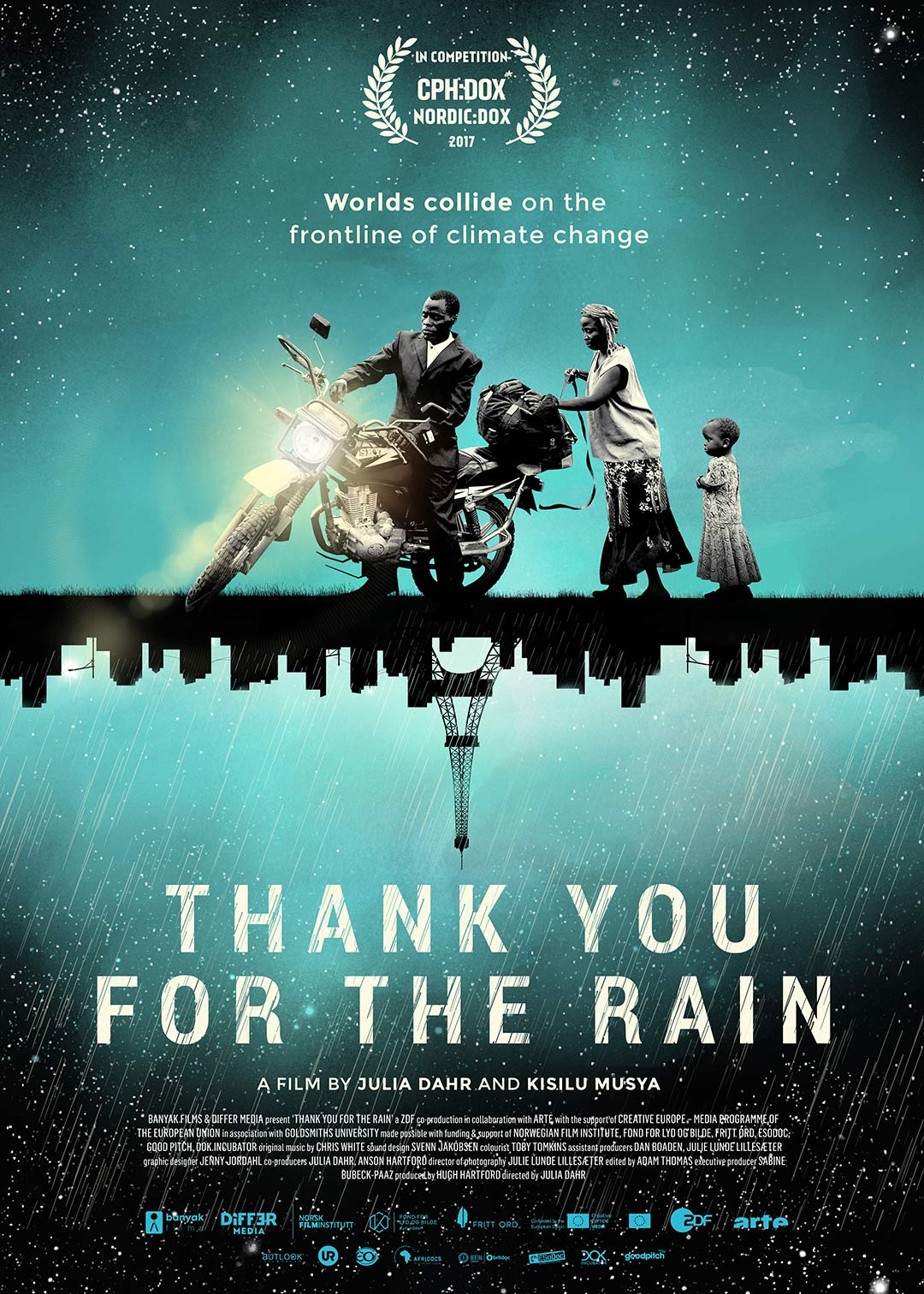 Thank You for the Rain Poster #1