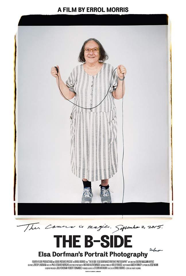 The B-Side: Elsa Dorfman's Portrait Photography Poster #1