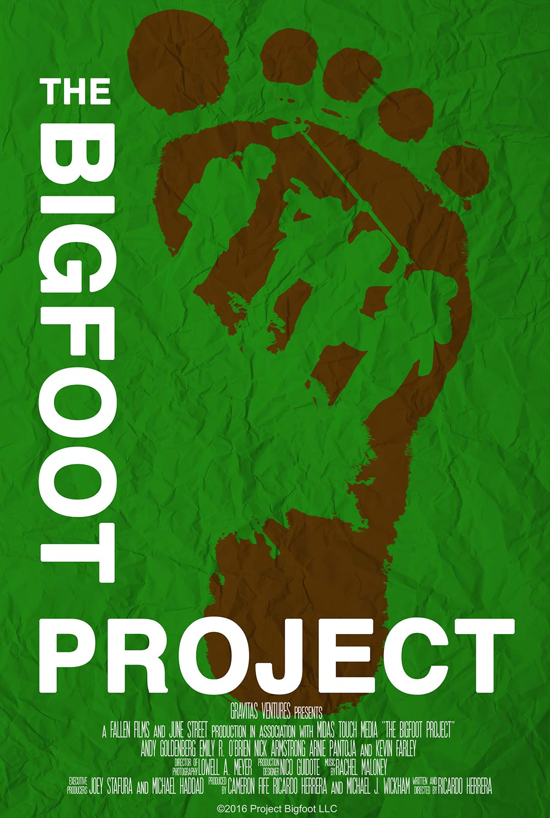 The Bigfoot Project Poster #1
