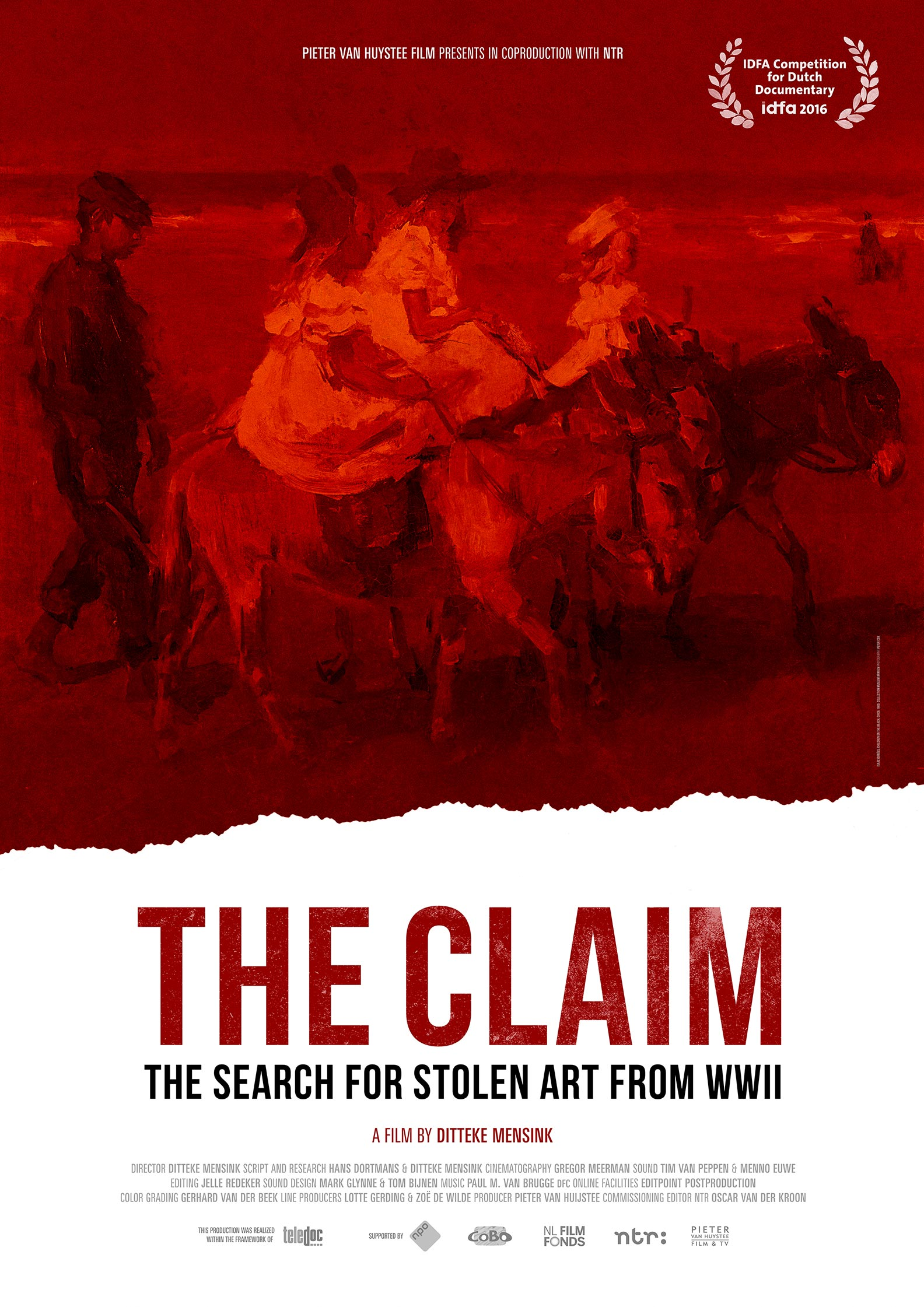 The Claim in Search of Stolen Art of WWII Poster #1