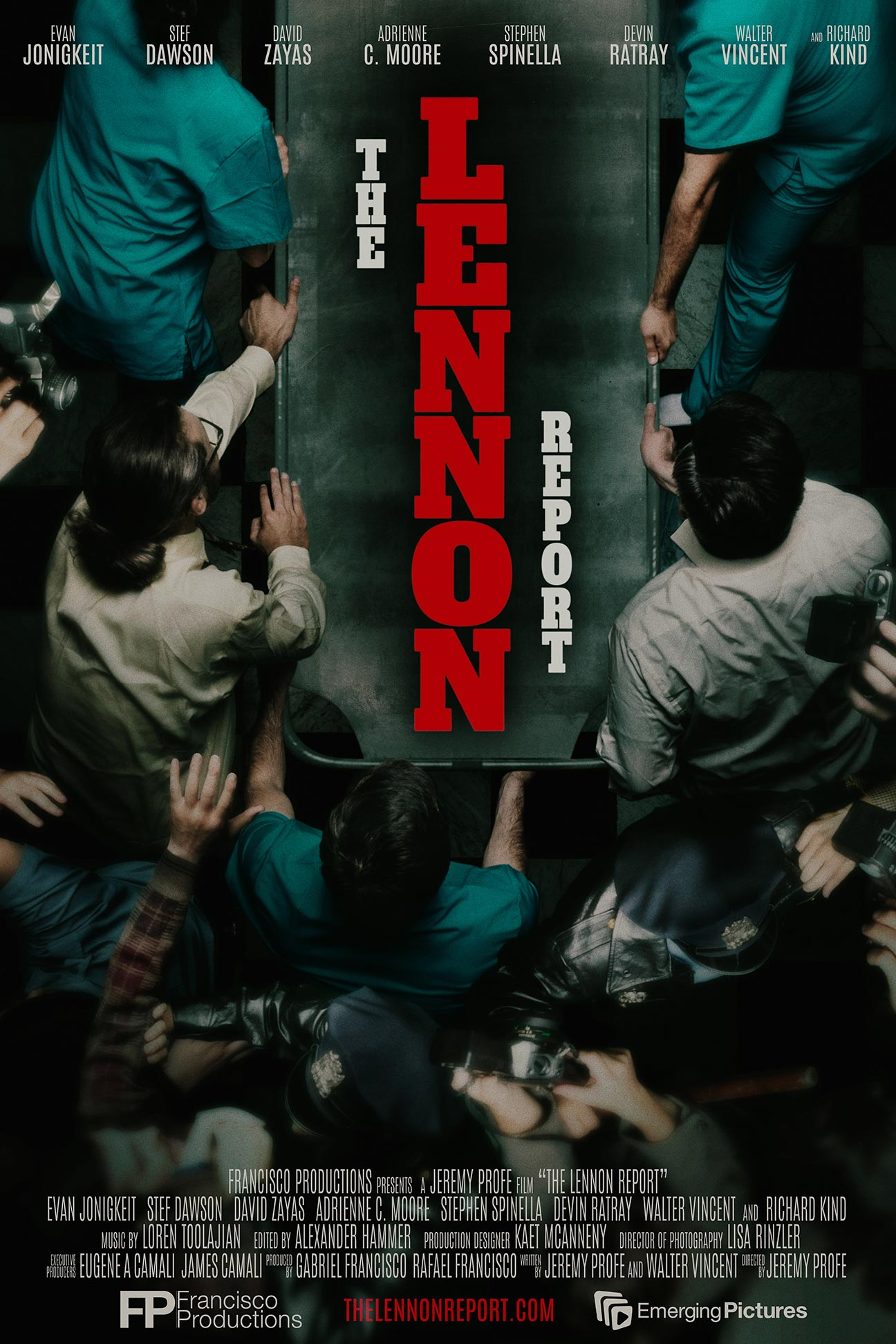 The Lennon Report Poster #1