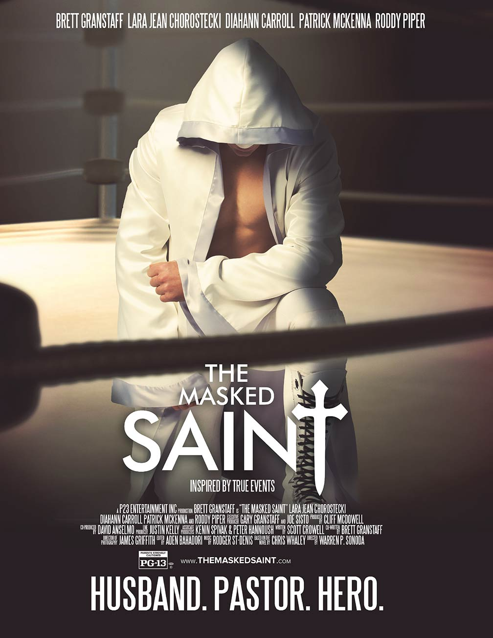 The Masked Saint Poster #1