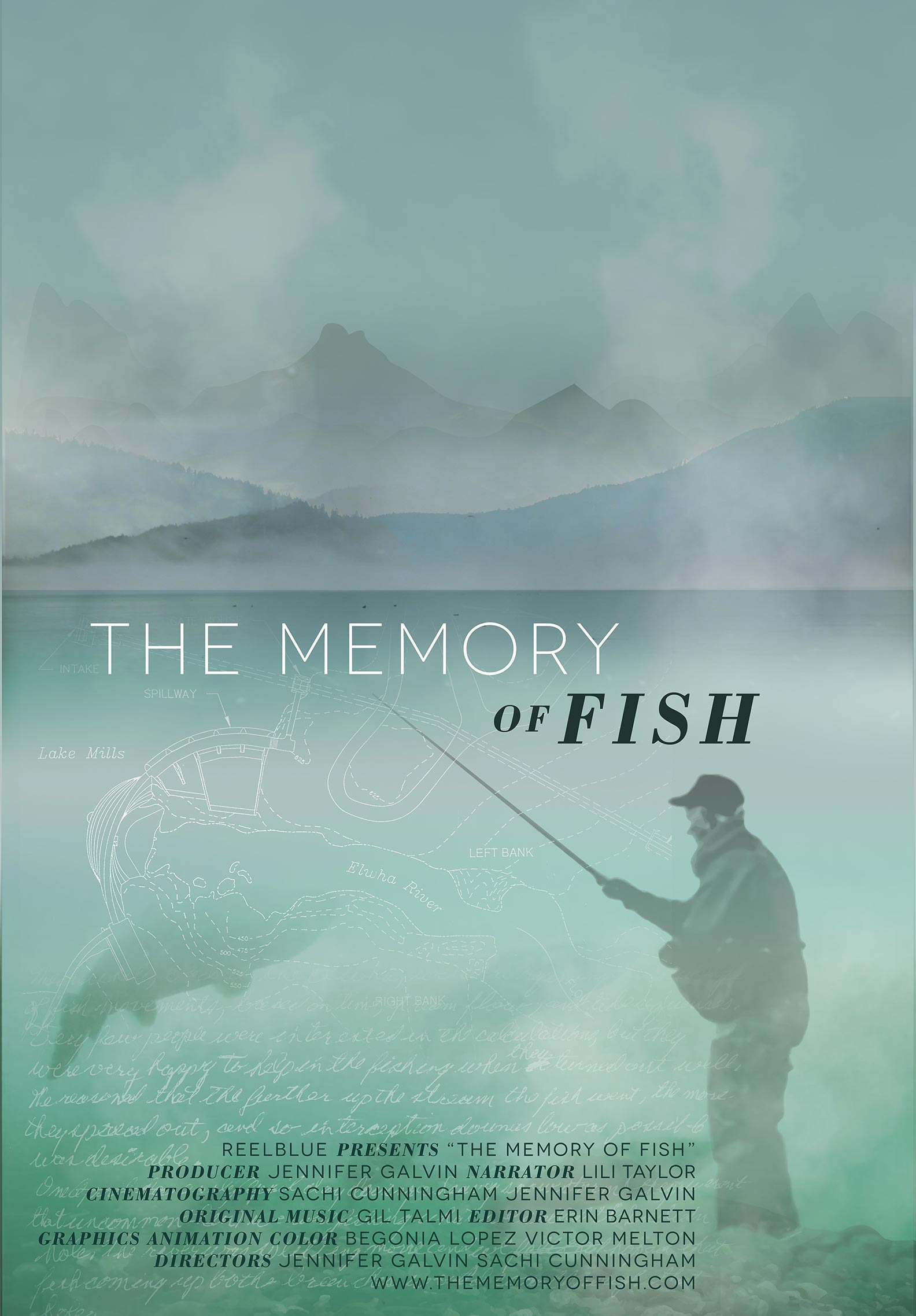 The Memory of Fish Poster #1
