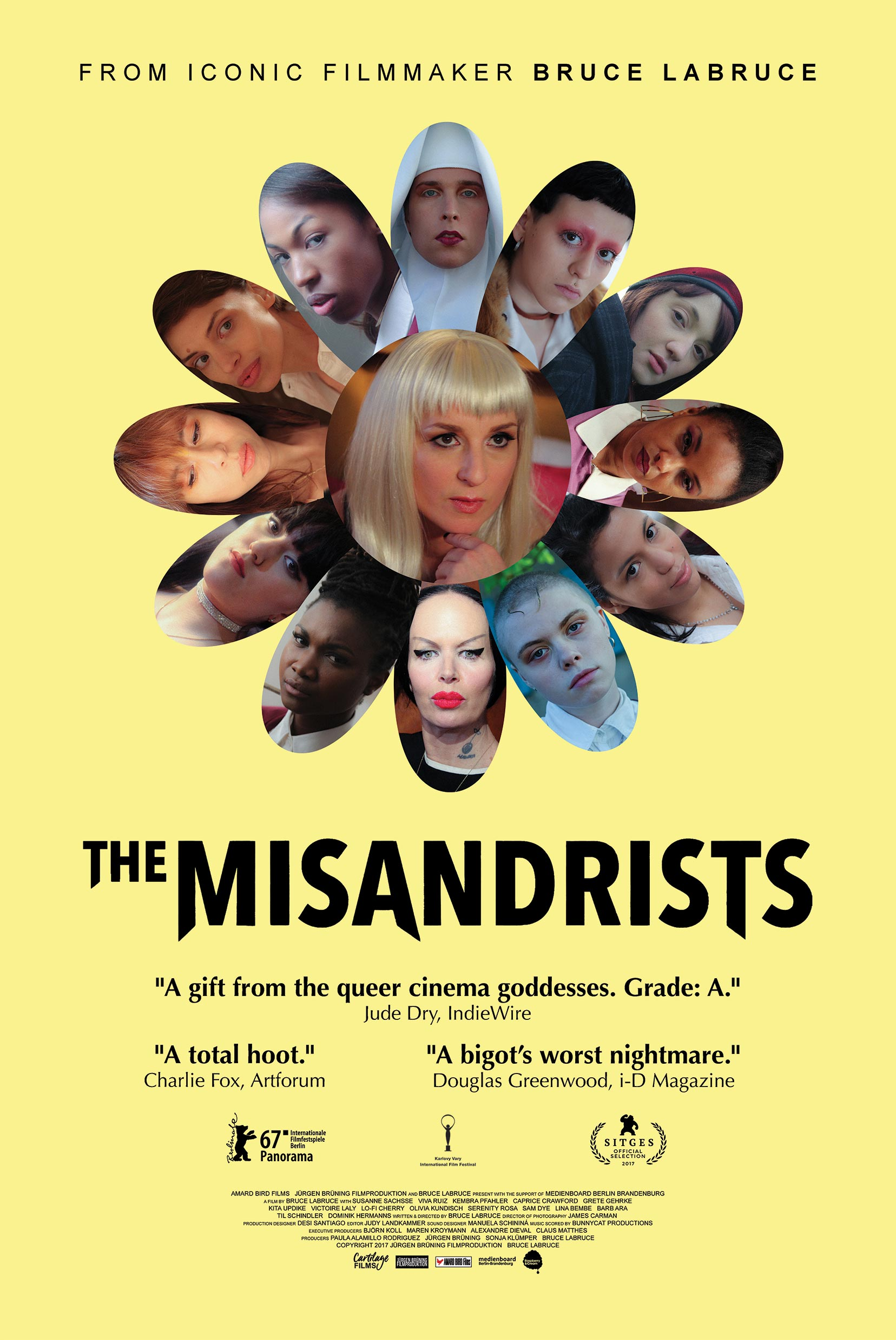 The Misandrists Poster #1