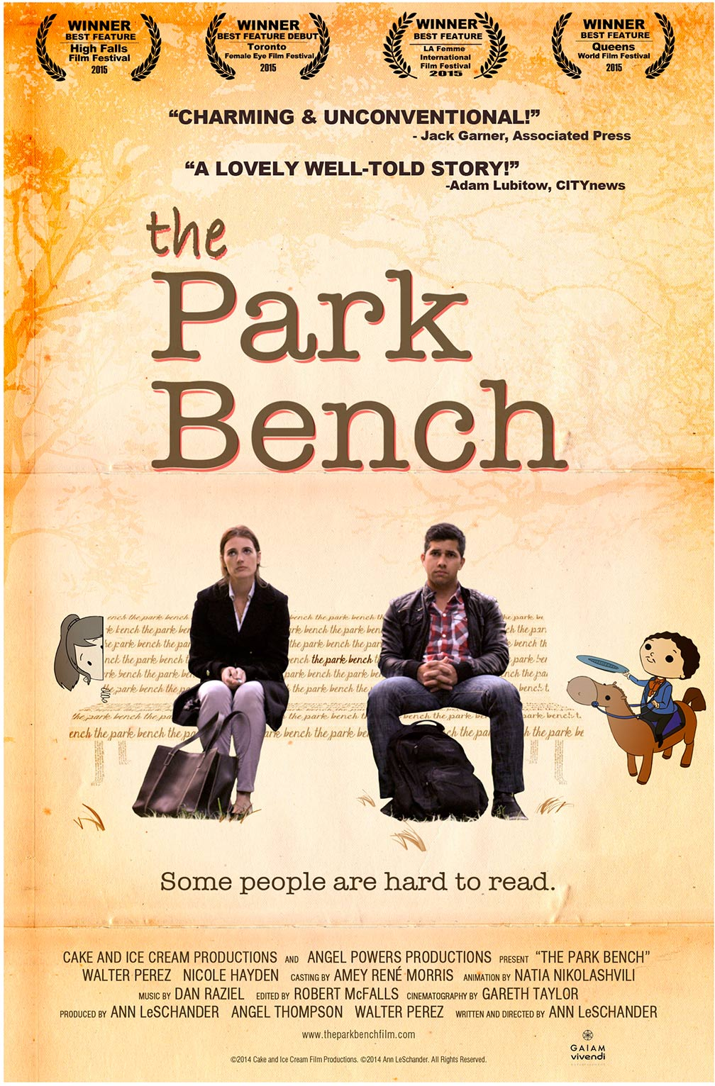 The Park Bench Poster #1