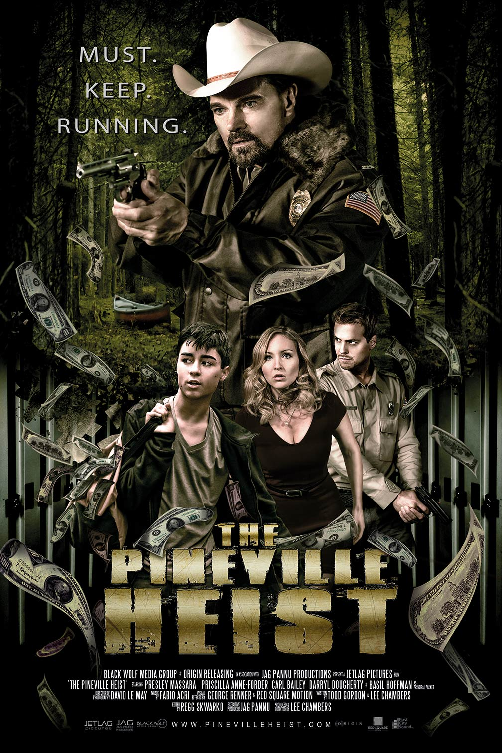 The Pineville Heist Poster #1
