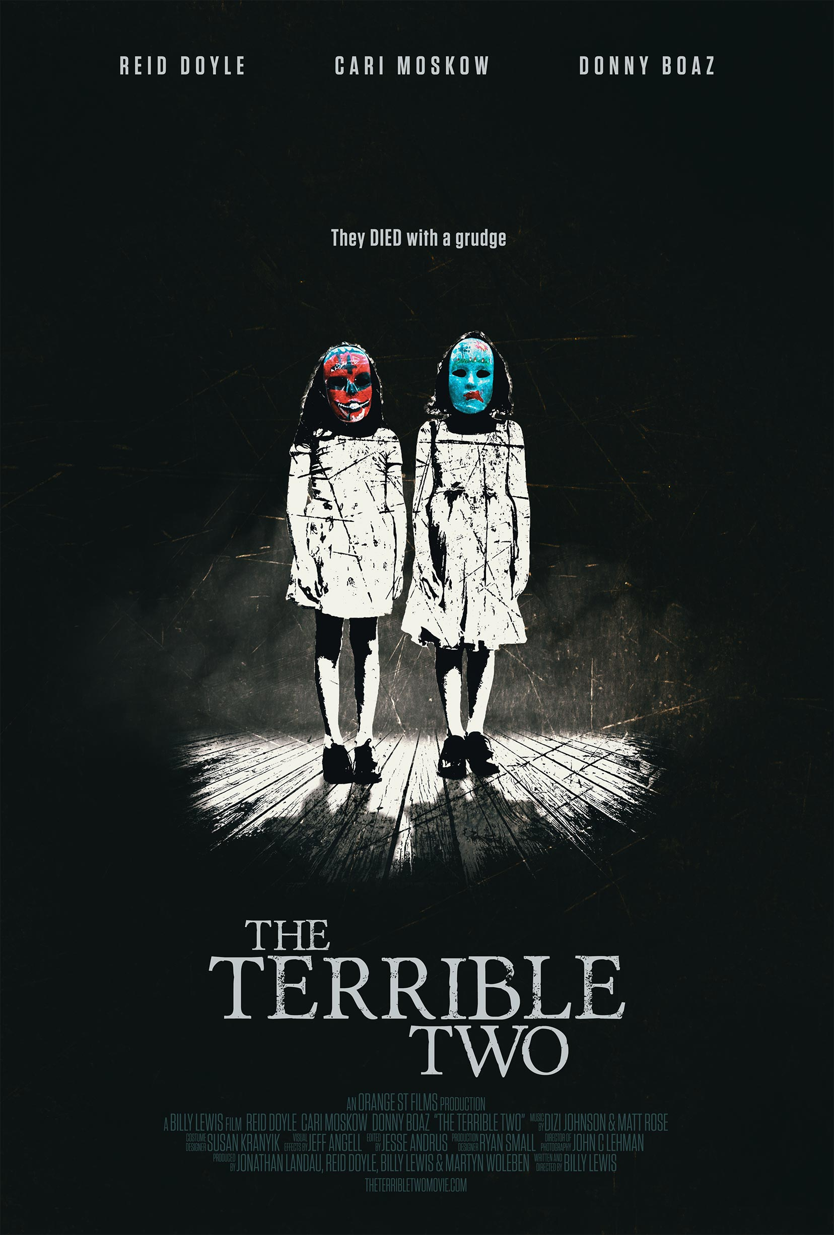 The Terrible Two Poster #1