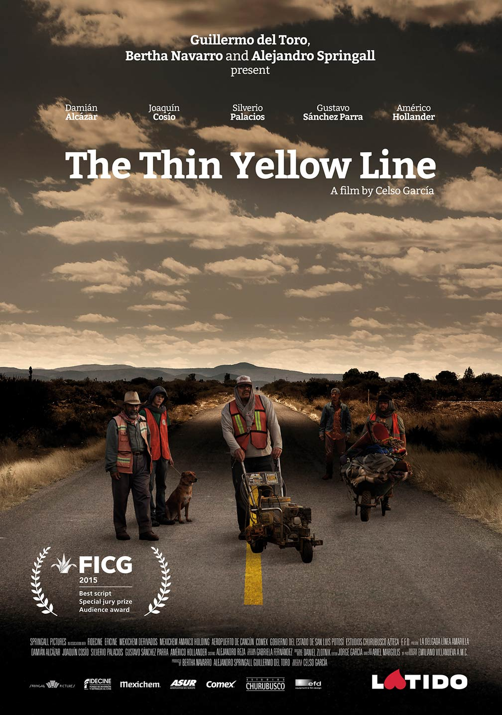 The Thin Yellow Line Poster #1
