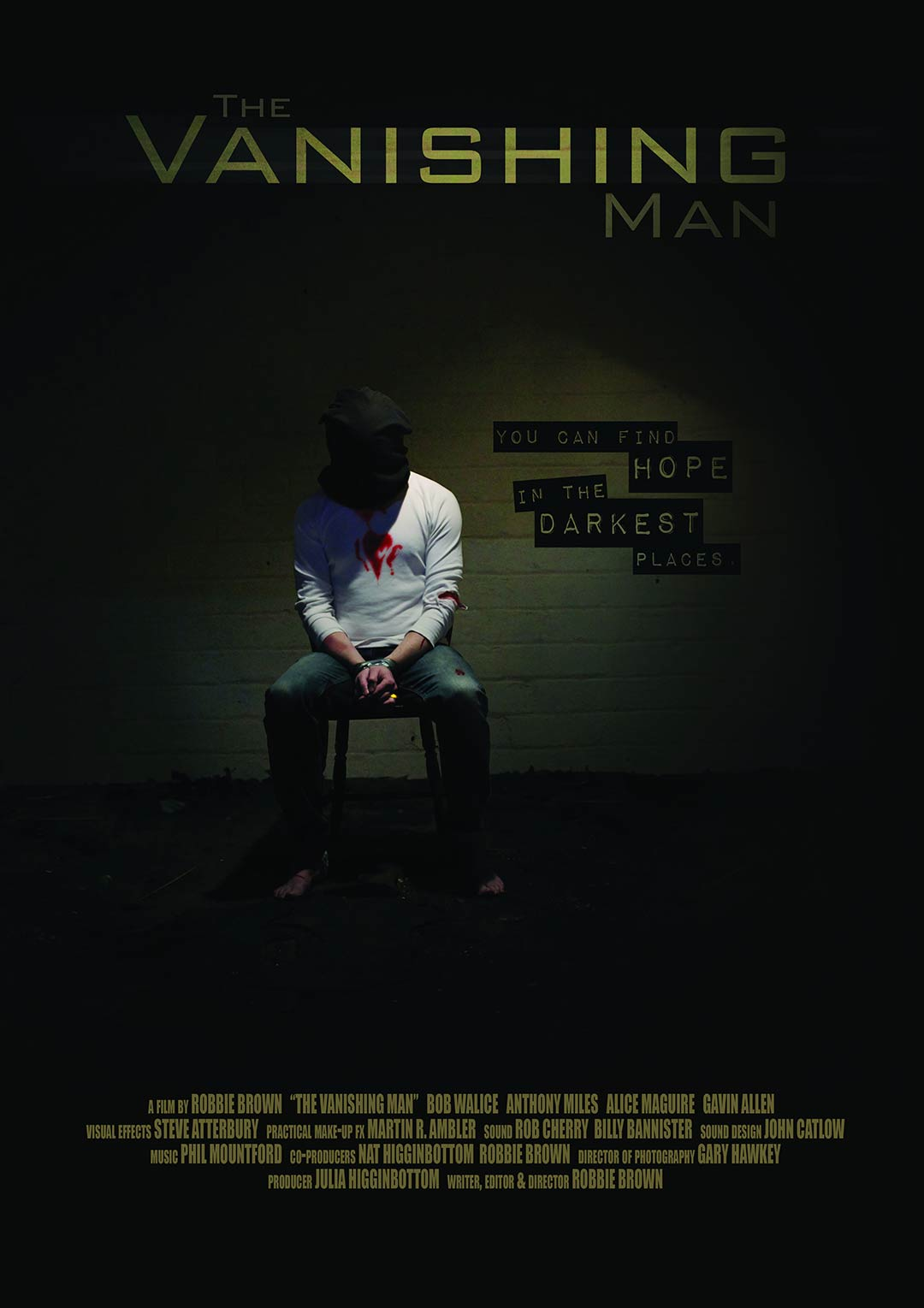 The Vanishing Man Poster #1