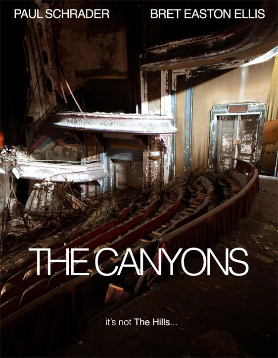 The Canyons Poster #1