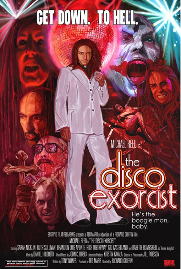 The Disco Exorcist Poster #1