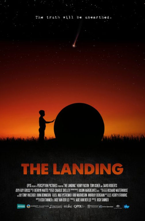 The Landing Poster #1