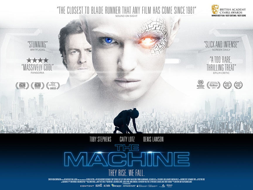 The Machine Poster #3